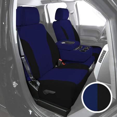 Saddleman 199581-03 SureFit Black//Blue Neoprene Seat Cover
