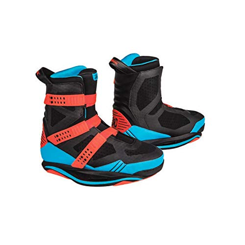 Ronix Wakeboard Bindings Supreme Boot - Blue/Caffeinated/Black - 10 (2019)