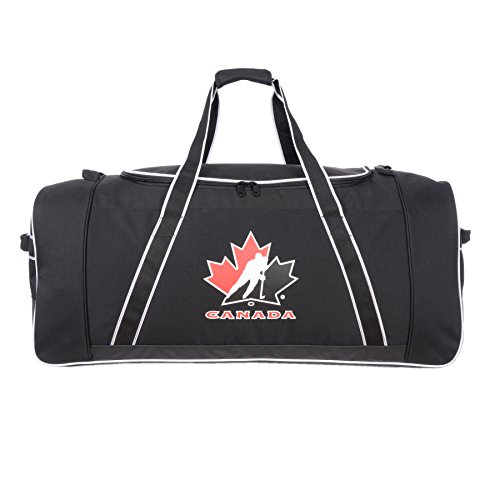 Hockey Canada Official 38 Inch Hockey Equipment Duffle Bag (Best Hockey Equipment Bag)
