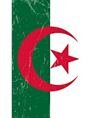 Algeria Flag Journal: Blank lined Notebook to write in