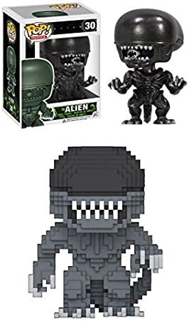 Funko POP! Alien + 8-Bit Xenomorph - Stylized Vinyl Figure Set NEW: Amazon.es: Juguetes y juegos