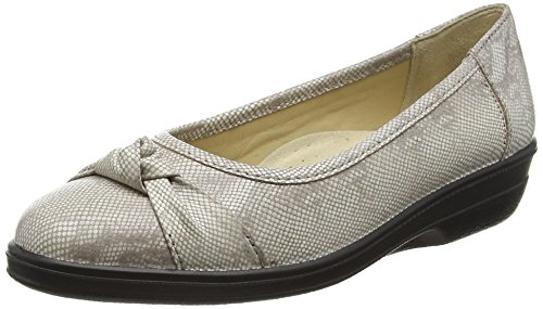Padders  Fiona, Ballerines pour femme Beige Beige (21 Taupe) 35.5