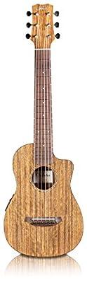 Cordoba Mini O-CE Travel Acoustic-Electric Nylon String Guitar With Cordoba Gig Bag