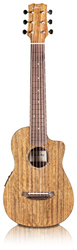 Cordoba Mini O-CE Travel Acoustic-Electric Nylon String Guitar With Cordoba Gig Bag