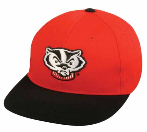Wisconsin Badgers ADULT Cap Officially Licensed NCAA Authentic Replica Baseball/Football Hat
