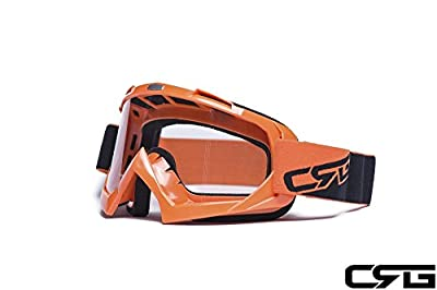 CRG Sports Motocross ATV Dirt Bike Off Road Racing Goggles RED T815-7-2 T815-7-2 - Parent