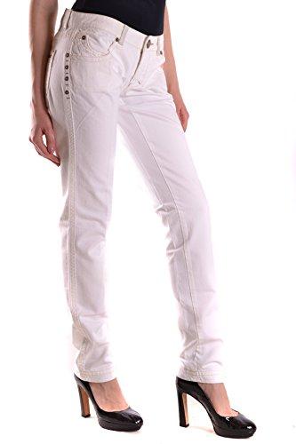 Jeans Algodon Ezbc056039 Mujer Pinko Blanco xqIAzOHUw
