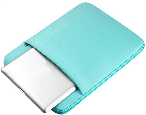 JUNGEN 1 x Laptop Tasche Mode Rechteck Computer Carrying Bag Tasch 14 Zoll Vert X 11 Zoll mTrqg3