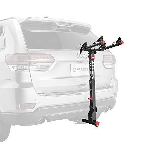 Allen Sports Deluxe+ Locking Quick Release 2-Bike Carrier for 1 1/4 in. and 2 in. Hitch, Model 820QR