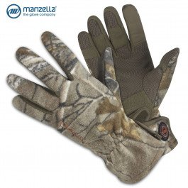 Manzella Productions 006332 Bow Stalker Fleece Glove, Realtree Xtra Camo, ()