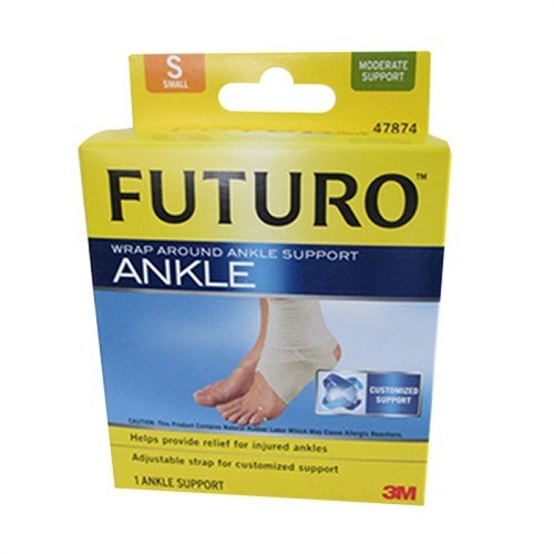(3M 47874EN) (3M ID Number 70011000232) FUTURO(TM) Wrap Around Ankle Support 47874EN,Small [You are purchasing the Min order quantity which is 12 EACHS] by Futuro