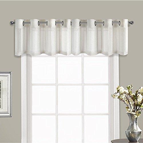 United Curtain VNTVANT Venetian Window Curtain Topper Valance, 60