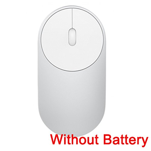 Wireless Optical Silver Mouse Rf (Portable Wireless In Stock Mi Optical Bluetooth 4.0 RF Dual Mode Connect Mouse,Silver No Battery,China)