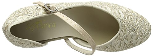 Danca Sparkle Scarpe Gold Ballo Bl504 Oro da So Donna aRwqHH