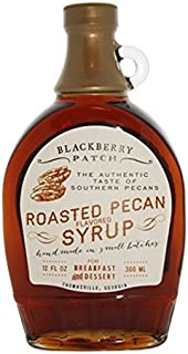 """product image for Roasted Pecan Syrup, """"Contains SUGAR"""" Blackberry Patch 12 oz"""