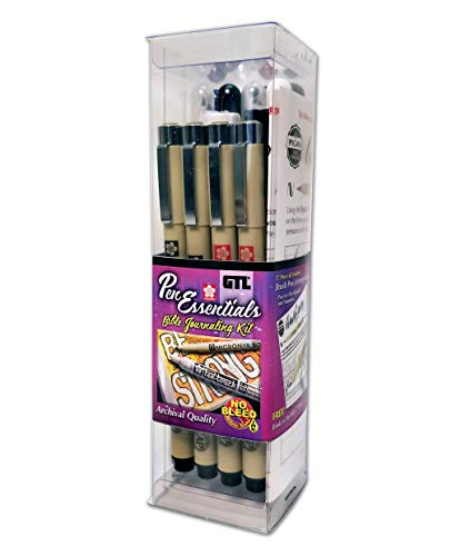 Pigma Micron/Gelly Roll PenESSENTIALS Cube - 17 Piece Art Set