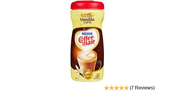 Nestle Coffeemate Vanilla Latte Coffee Creamer 15 oz: Amazon.com: Grocery & Gourmet Food
