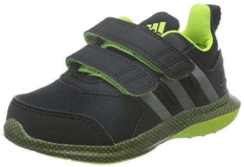 adidas Unisex Baby Hyperfast 2.0 CF I Lauflernschuhe Negro (Negbas / Hiemet / Amasol)
