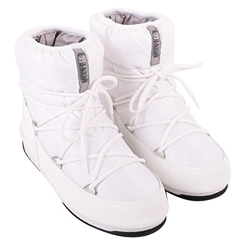 Boot We White Womens Nylon Silver Moon Tecnica Low wzxAntUwF