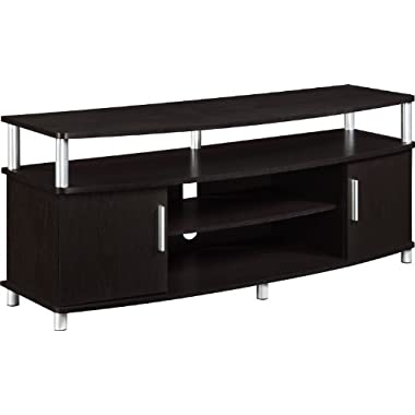 Ameriwood Home Carson TV Stand for TVs up to 50  Wide, Espresso