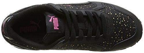 Puma St Runner Dots - Zapatillas de deporte Mujer Negro - negro (Black/Black)