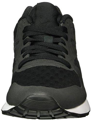 Reebok Gl 6000 Pack De Messagerie Cachée, Sneaker Unisexe - Adulto, Nero (noir / Blanc), 37.5 Eu
