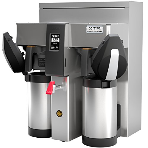 Fetco CBS-2132XTS Twin Station Touchscreen Series Airpot Coffee Brewer by Fetco