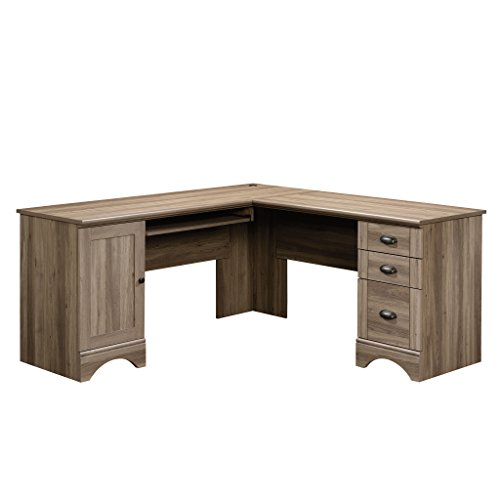 Sauder 417586 Harbor View Computer Desk, L W: 66.14