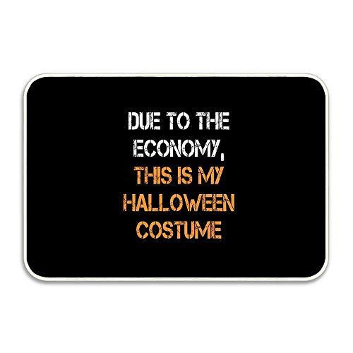 Halloween Costume Due to Economy Customizable Doormat Home Door Mats 16