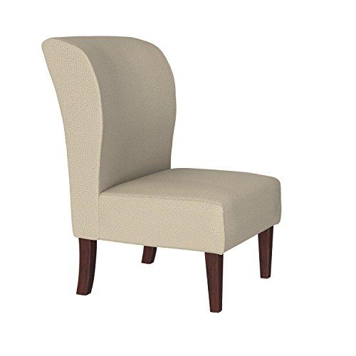 Stone & Beam Lummi Modern Armless Living Room Accent Chair, 21.6