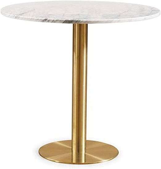 Amazon Com Mdeoh Marble Round Coffee Table 15 7 Inches In