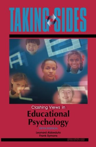 Taking Sides: Clashing Views in Educational Psychology by Leonard Abbeduto (2007-09-11)