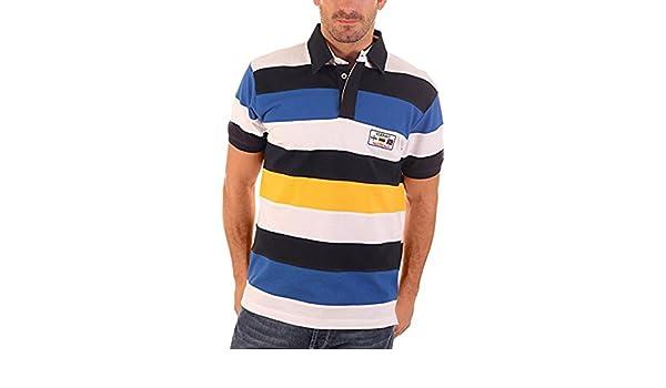 CLK Polo - Polo Piqué De Marga Corta Náutico A Rayas Multicolor ...