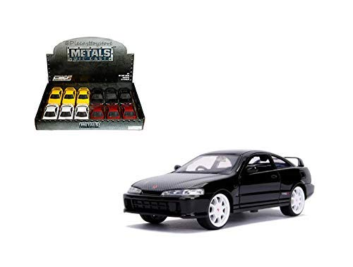 Jdm Honda R Integra Type - Jada 1: 32 Display - Metals - JDM Tuners - 1995 Honda Integra Type-R (Japan Spec) (Red, Yellow, White, Black) Set of 4 Without Retail Box 30945-DP1, Multi
