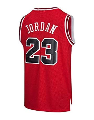 0a8b483ff70 VICTOREM Mens NBA Michael Jordan #23 Chicago Bulls Basketball Jersey Retro  Gym Vest Sports Top