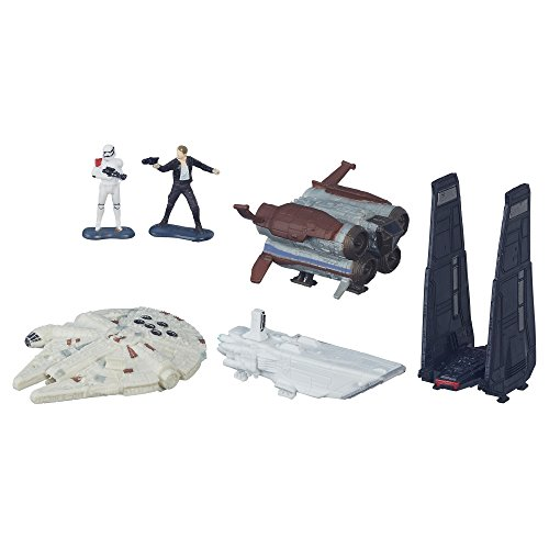 (Star Wars: The Force Awakens Micro Machines Deluxe Vehicle Pack Space Pursuit)