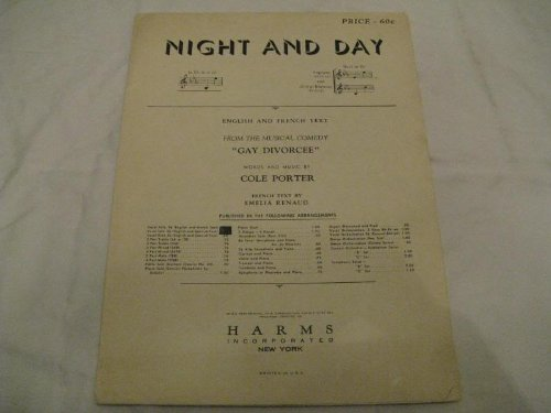 Night and Day Sheet Music (Night And Day Sheet Music)