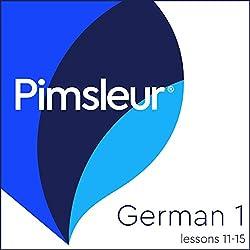 Pimsleur German Level 1 Lessons 11-15