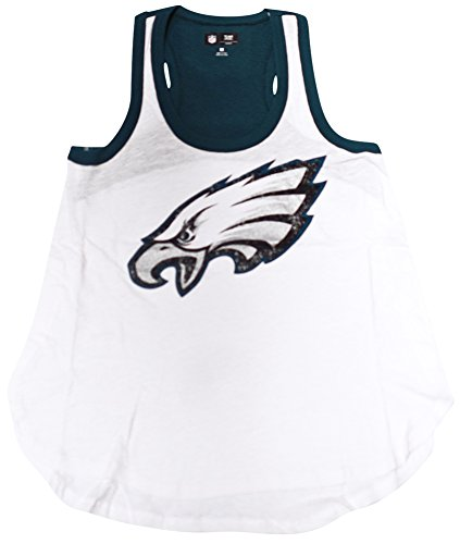 Alley Tee - Philidalphia Eagles Womens Power Alley Tank Top T-shirt X-Large