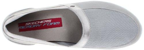 Skechers Ez Flex - Take-It-Easy - Zapatillas de deporte para mujer gris/blanco