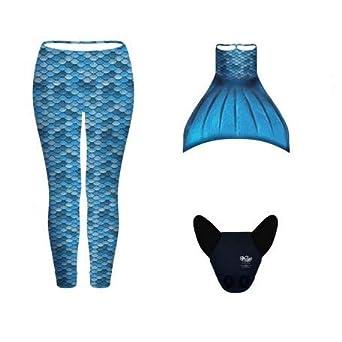 Conjunto Sirena Kuaki 3 Pcs Modelo Azul