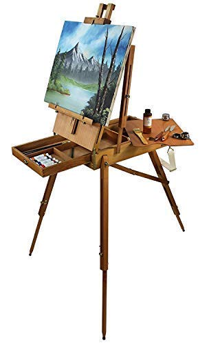 Artist Quality French Easel, Hardwood, Hand Varnished ()