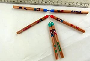 Nunchaku Kungfu HB Bleistifte (3 Paare) aus Japan