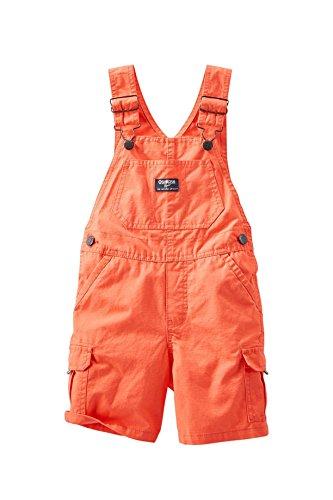 OshKosh Bgosh Infant Boys Coral Cargo Shortall Overalls 18 Months