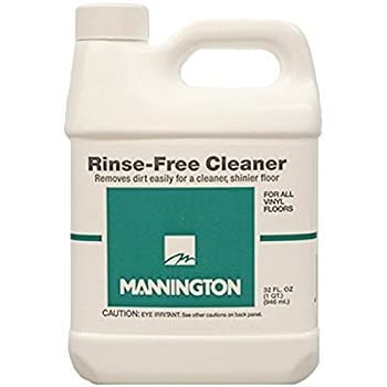 Amazon Com Mannington Rinse Free Cleaner 32oz For Vinyl