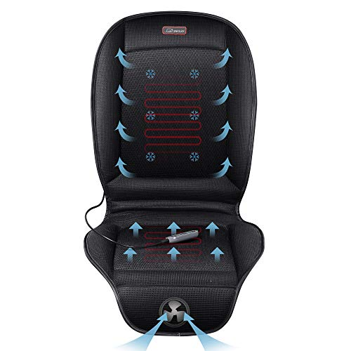 Seat Cushion With 3 Levels Cooling and 2 Levels Heating SL26A8 Cool and Heating Pad for Car Truck Home Office