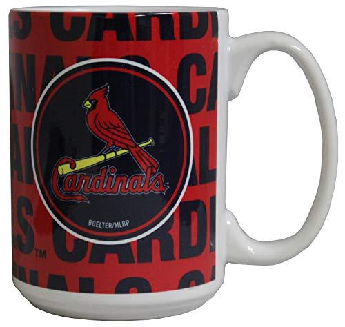 St. Louis Cardinals 11 oz Bold Ceramic Coffee Mug (Louis Cardinals Ceramic)