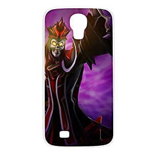 Karthus-001 League of Legends LoL case cover for Samsung Galaxy S4, GT I9500, I9005, I9006 - Plastic White