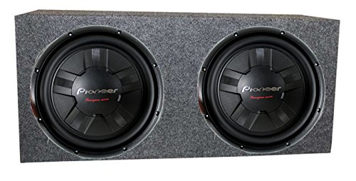 2) Pioneer TS-W311S4 12 Inch 2800W Car SVC Subwoofers + Sealed Enclosure Box: Amazon.co.uk: Hi-Fi & Speakers
