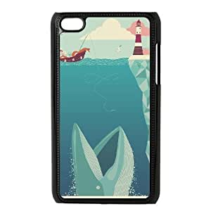 Shark Week Ipod Touch 4 Case,Ipod Touch 4 Cases Quotes - Black Yearinspace156997